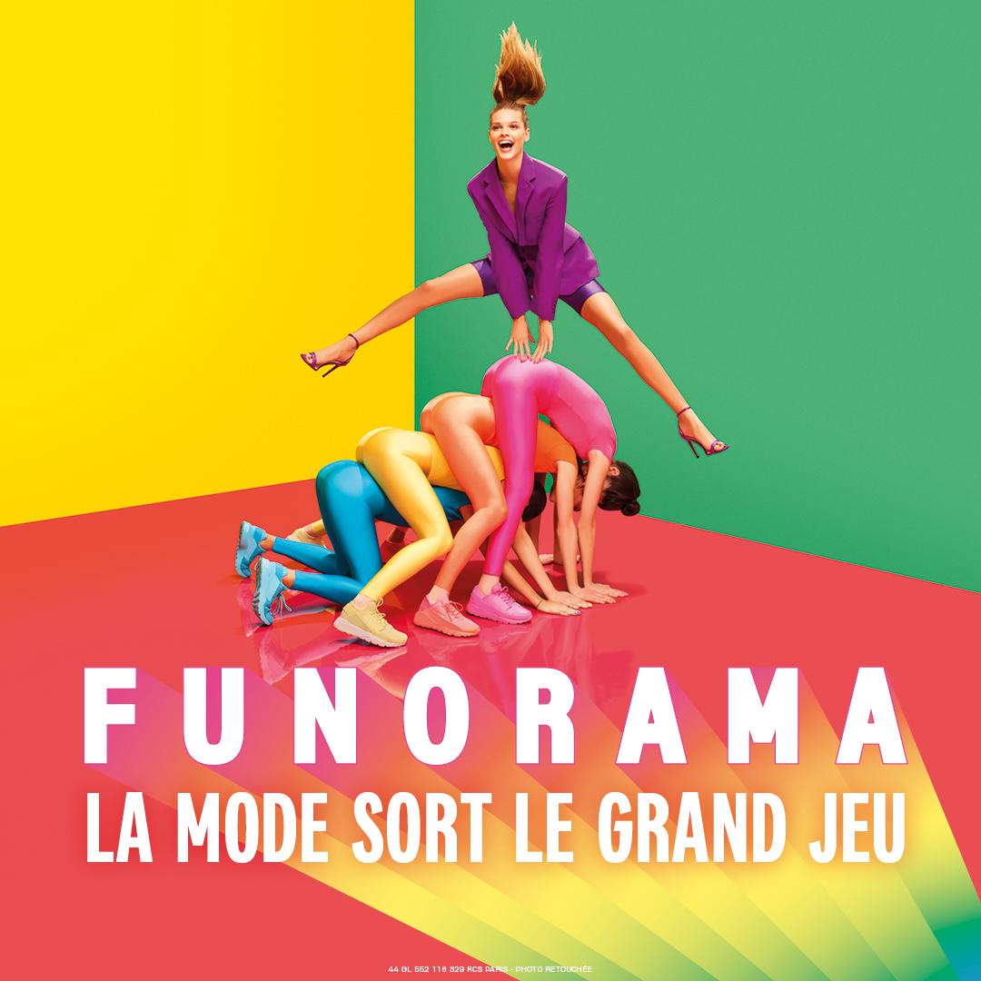 fac154da91 Animations gratuites FUNORAMA aux Galeries Lafayette Cap3000 du 08 avril au  26 mai 2019   RécréaNice