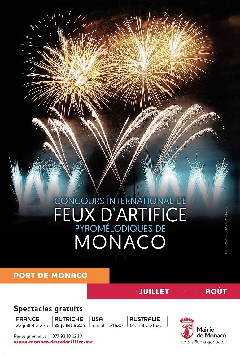 Calendrier Feu D Artifice 2020.Feux D Artifice Pyromelodiques De Monaco 2019 Concours