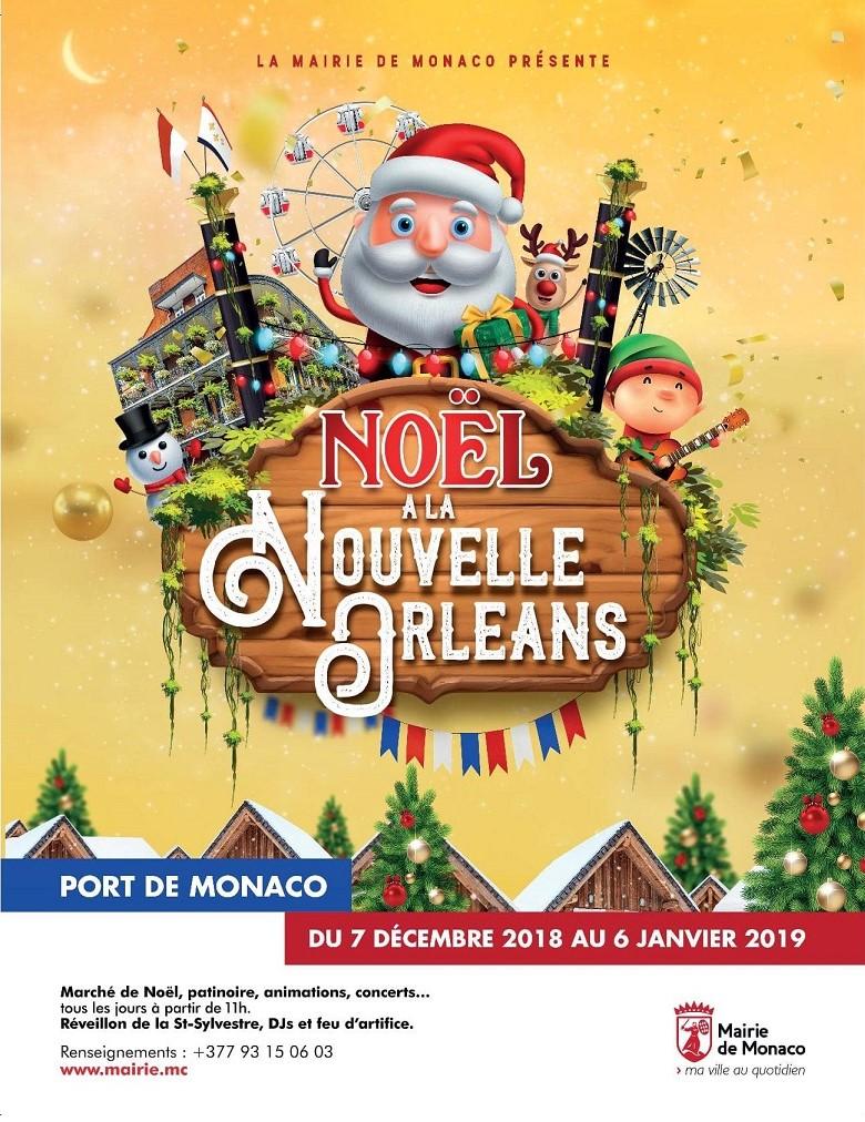 Village De Noël à Monaco Du 07 Décembre 2018 Au 06 Janvier 2019