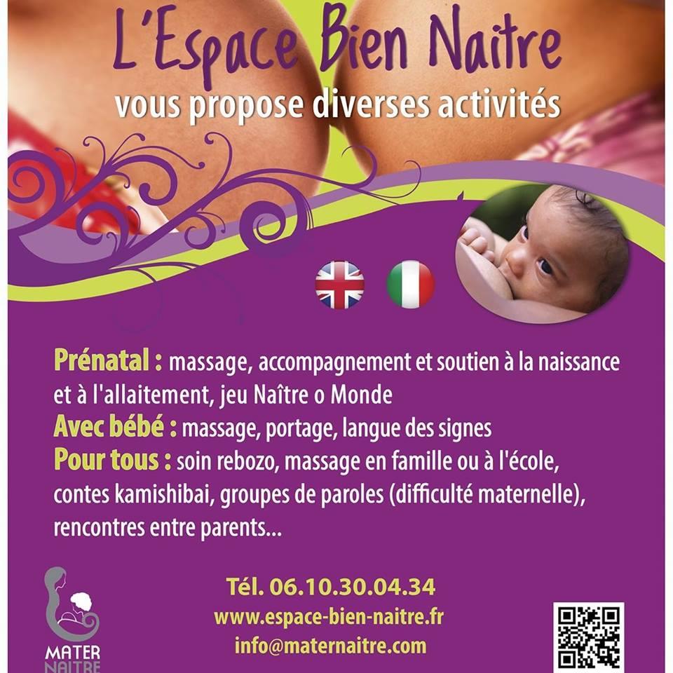 Atelier portage de bébé par l Espace Bien Naître   ateliers mobiles dans le  06   RécréaNice 23d193a7a21