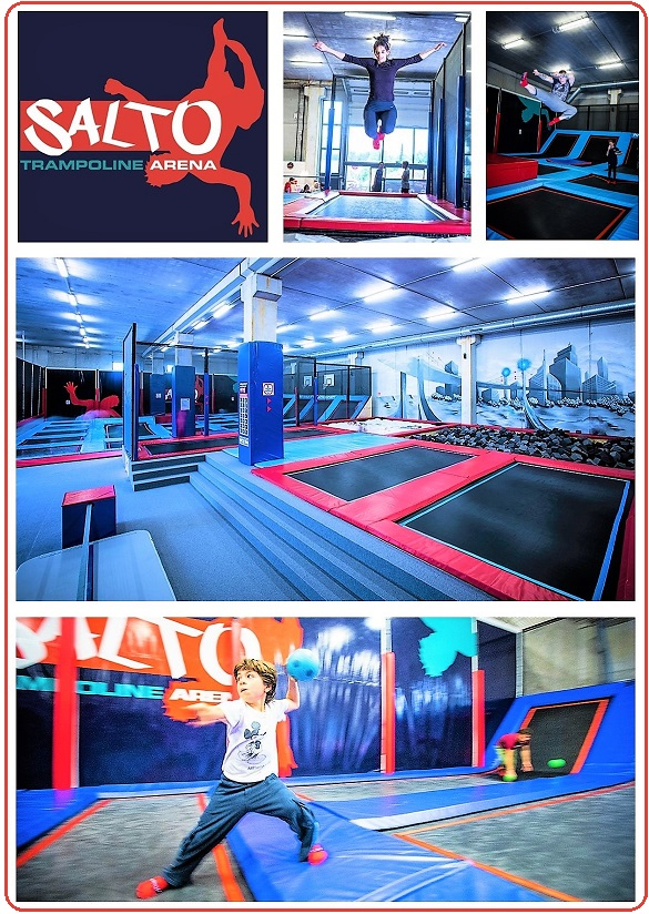 salto trampoline arena mougins parc de trampolines indoor r cr anice. Black Bedroom Furniture Sets. Home Design Ideas