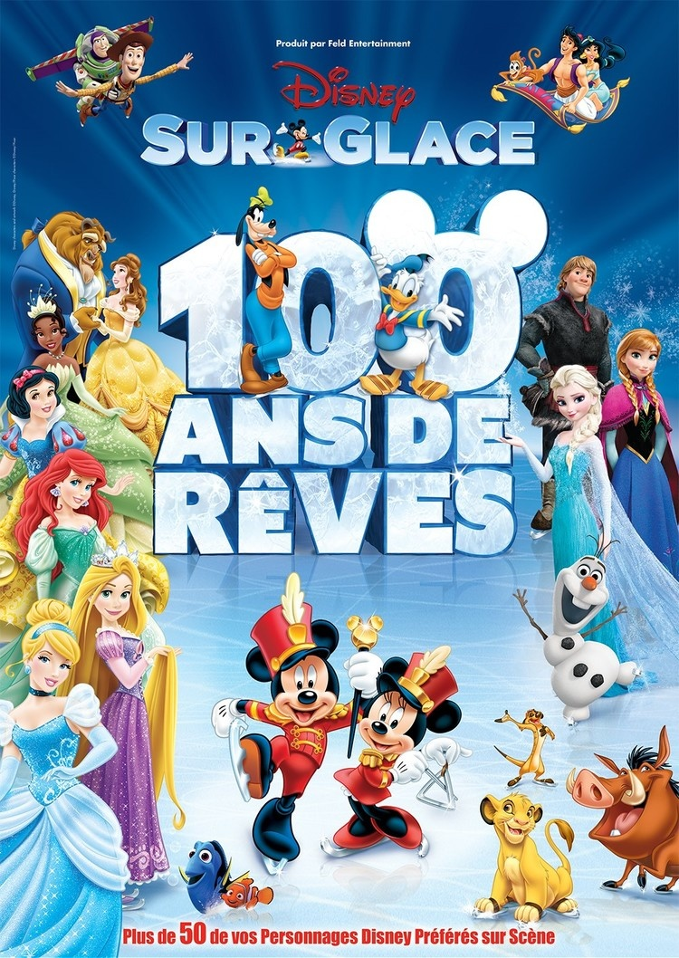 disney sur glace 100 ans de r ves nice les 17 et 18 janvier 2017 au palais nika a r cr anice. Black Bedroom Furniture Sets. Home Design Ideas