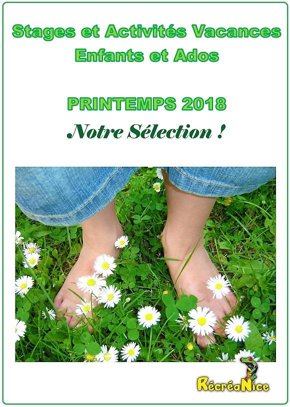 Stages et Activités Enfants - Vacances de Printemps 2018 dans les  Alpes-maritimes (06)   RécréaNice 650ed0045078