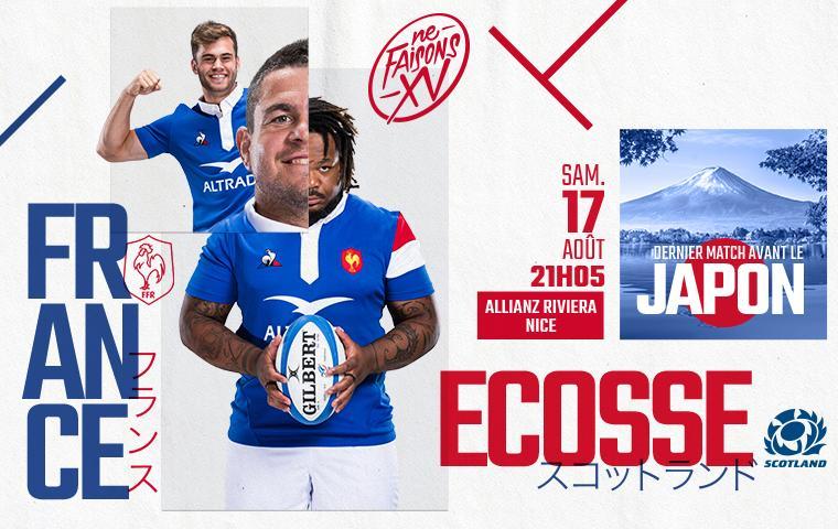 Warm Up Coupe Du Monde De Rugby France Ecosse Nice Samedi Ao t R cr aNice
