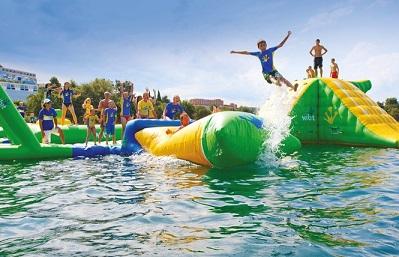 Jeux gonflables mer