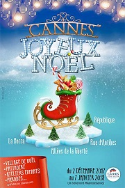 animation noel cannes 2018 Noël 2018 dans les Alpes Maritimes : animations, festivités et  animation noel cannes 2018