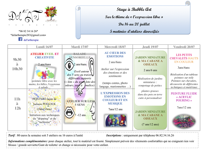 activites-vacances-enfant-nice-bubble-art