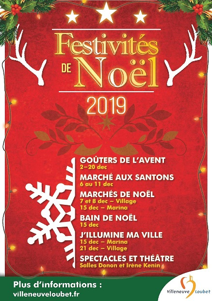 animations-noel-villeneuve-loubet-marina-village