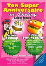 Fêter son anniversaire au bowling de Cannes.