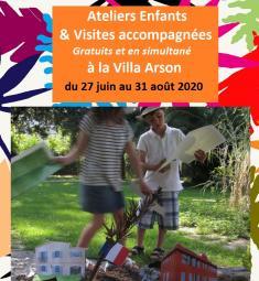 ateliers-enfants-vacances-villa-arson-nice