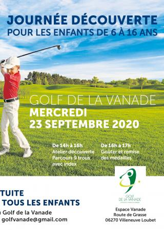 golf-cup-junior-vanade-villeneuve-loubet-enfants