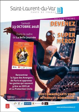 rencontre-super-heros-belle-journee-saint-laurent-var