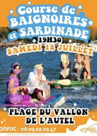 course-baignoires-sardinade-theoule-sur-mer
