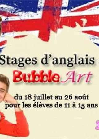 stage-anglais-ados-enfants-nice-bubble-art