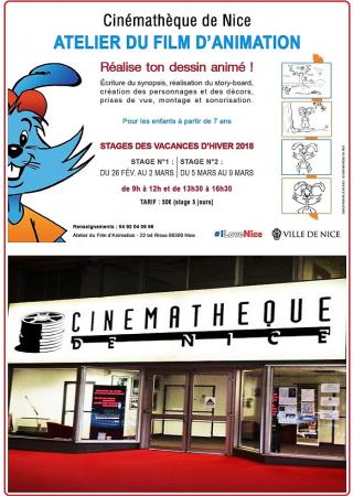 stage-enfant-nice-vacances-cinematheque-cinema