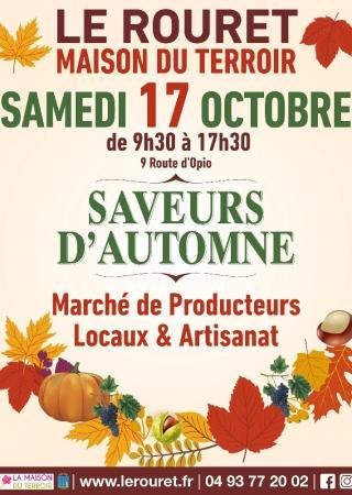 marche-saveurs-automne-rouret-programme-animations