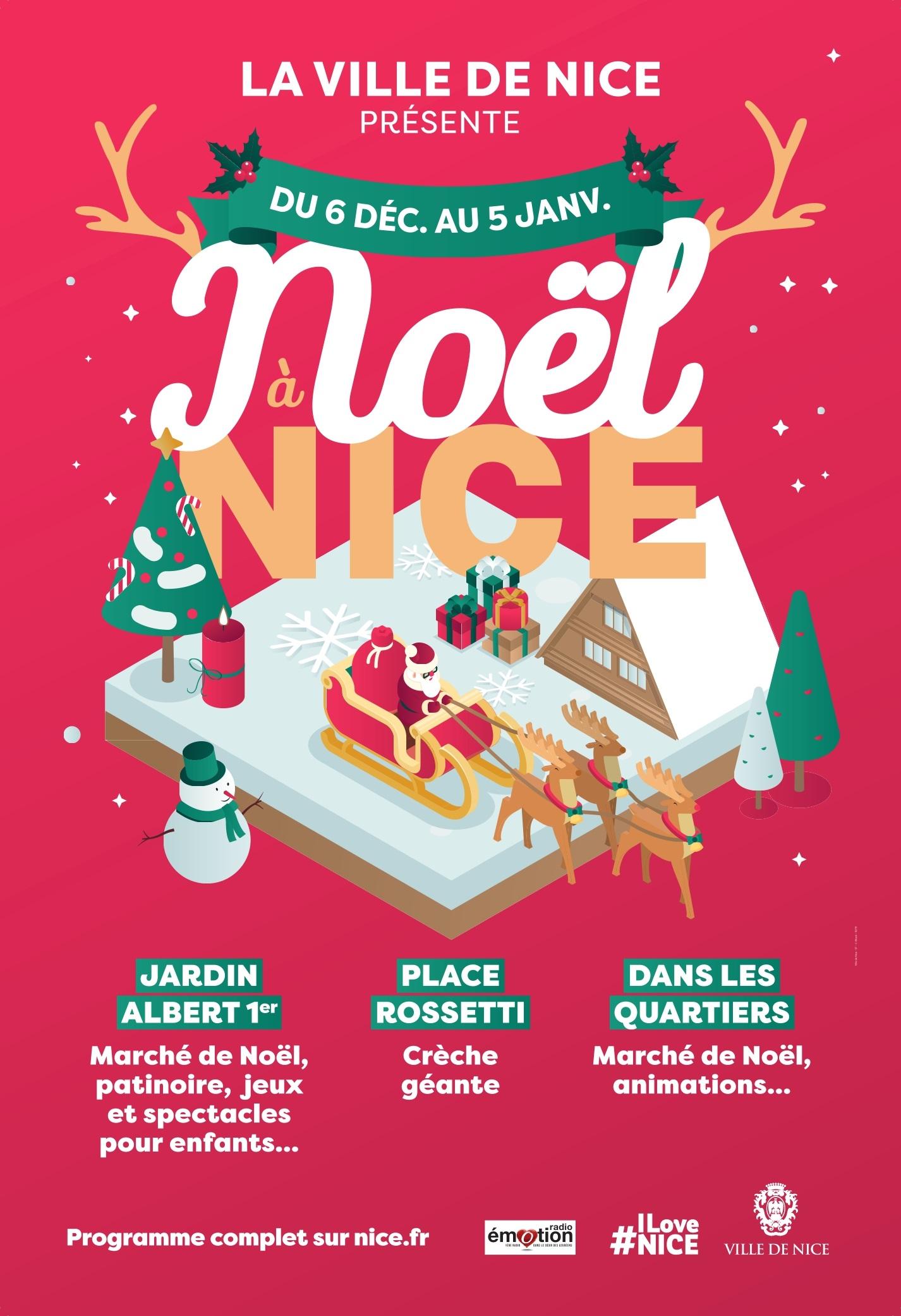 Idée De Jeux En Famille Pour Noel noël à nice du 06 décembre 2019 au 05 janvier 2020