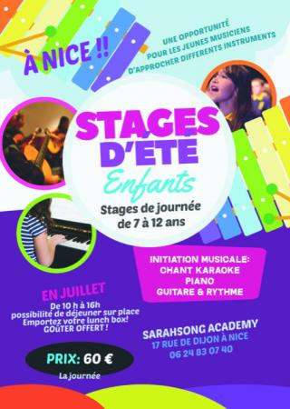 stage-musique-enfants-sarahsong-academy-nice