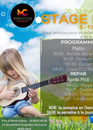 stages-vacances-enfants-nice-mc-production